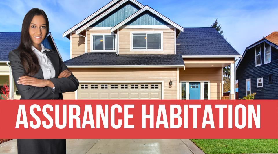 maison protégée par une assurance habitation complète