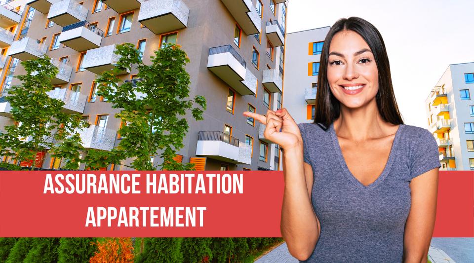 assurance habitation option appartement
