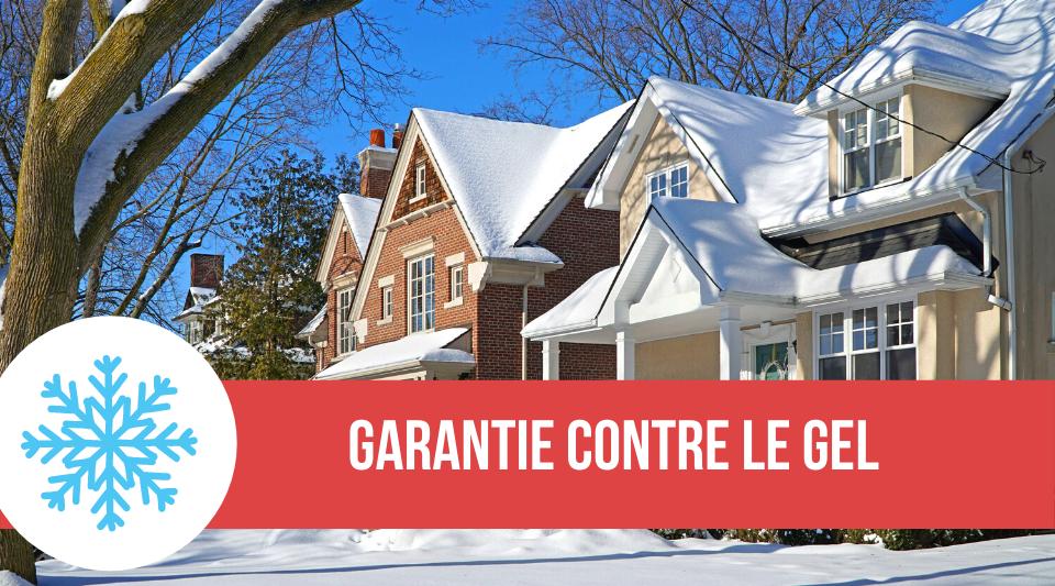 maison protégé contre le gel avec son assurance habitation